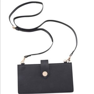 See Jane Work Faux Leather Crossbody Pouch
